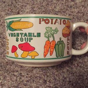 Other - Vintage Soup Mug